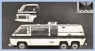Motorhome Design Ideas | GMC Motorhome