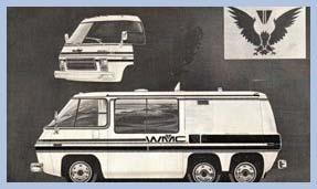 Motorhome Design Ideas | GMC Motorhome